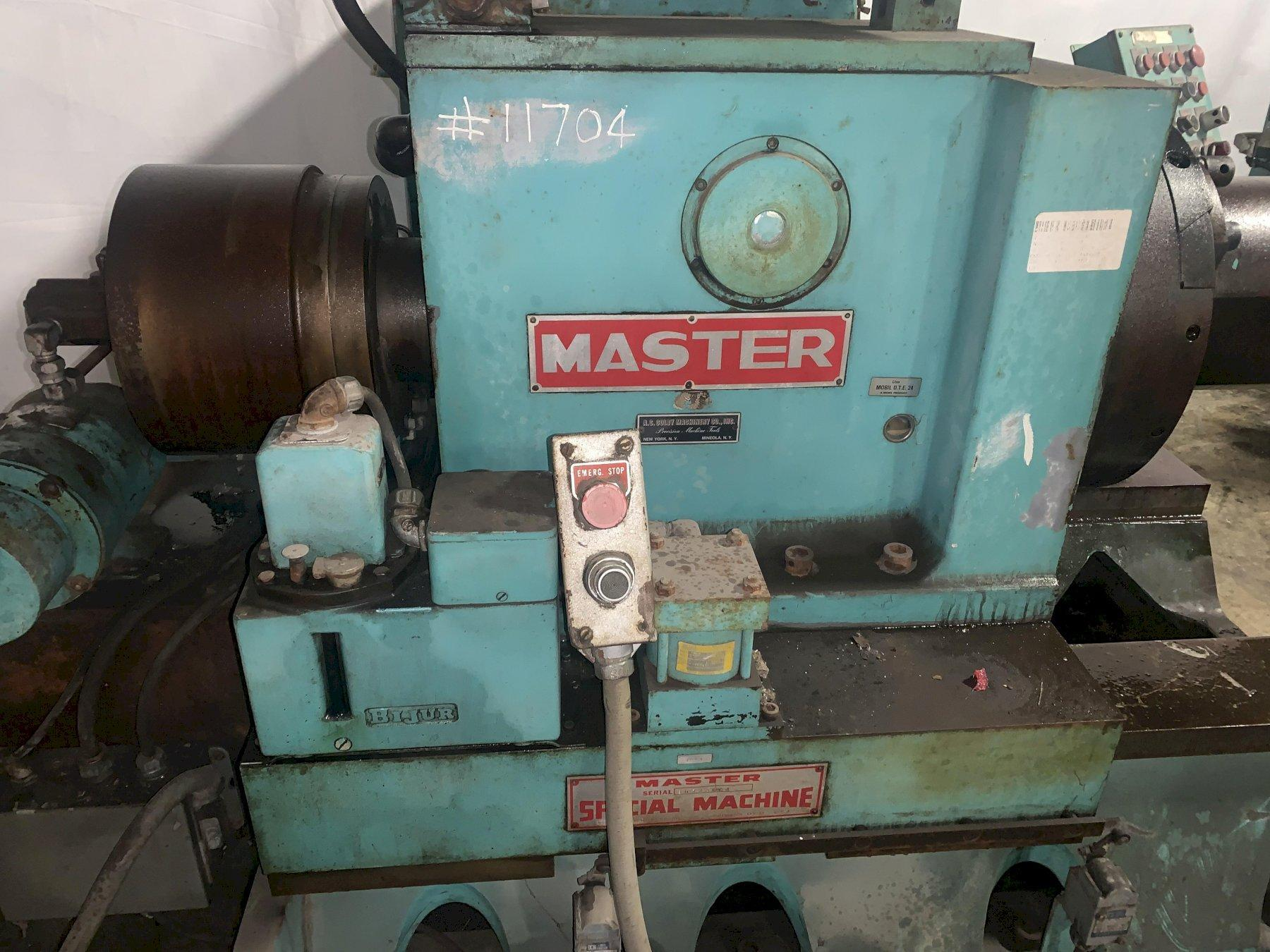 "32"" MASTER MACHINE PORTABLE PIPE BORING & FACING MACHINE: STOCK #12061"