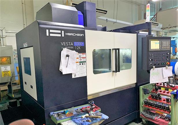 Hwacheon Vesta 1000+ CNC 3-Axis Vertical Machining Center, New 2017