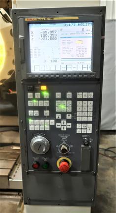 Fanuc Robodrill Alpha T21iDE 3-Axis Vertical High Spd Drill Tap Machining Center, New 2005