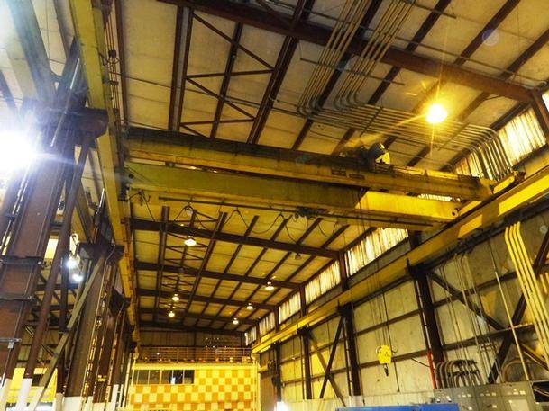10 Ton, Shaw Box Bridge Crane
