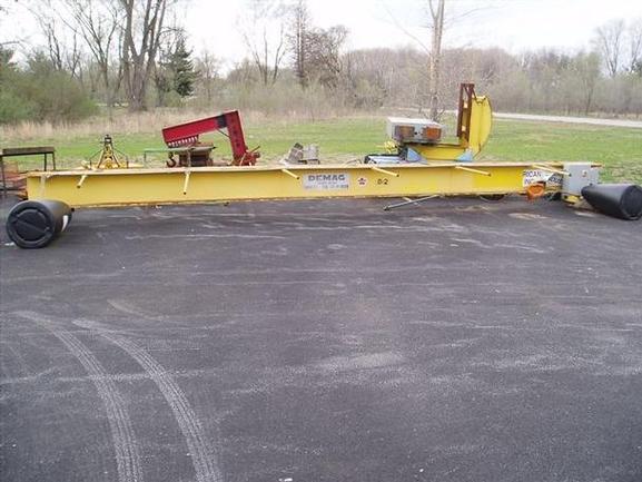7.5 Ton, 28' Span, DeMag Bridge Crane