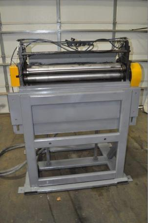 "36"" X .135"" Press Room Equipment Servo Feeder"