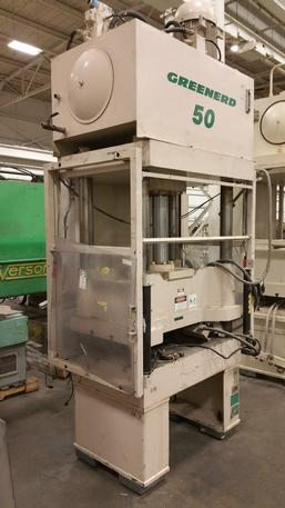 50 Ton Greenerd HD-50-36-36 4-Post Hydraulic Press