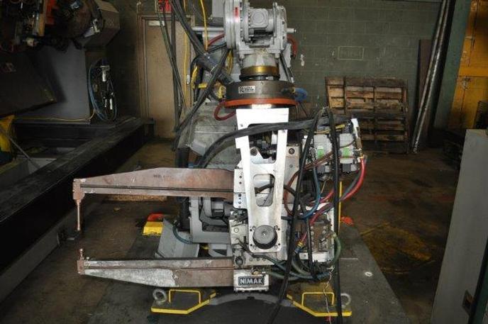Arcworld Yaskawa Motoman Robotic Spot Welding Cell