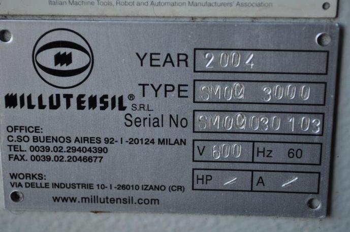 """6600 Lb. X 26"""" X .118"""" Millutensil Servo Feed Line Space Saver"""