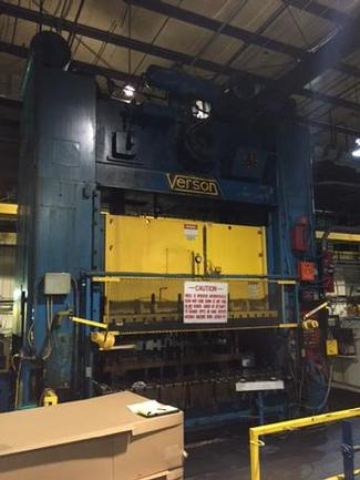600 Ton Verson S2-600-120-72T SSDC Press