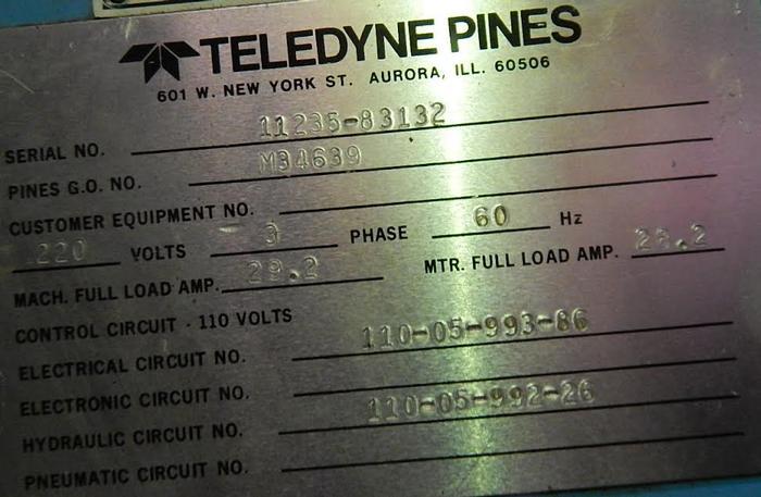 """Pines #2 3"""" Horizontal Tube Bender"""