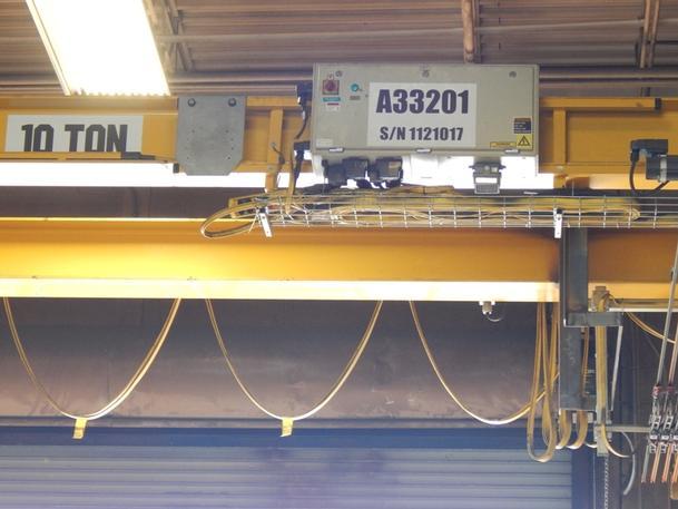 10 Ton Kone Bridge Crane