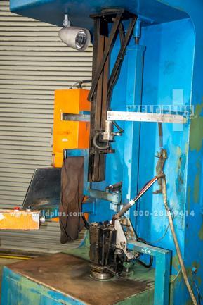 Edron Vertical Tig Welding Lathe, Adjustable Bottom Fixture For Irregular Shapes, (2) Available