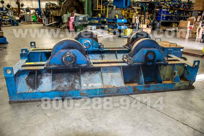 300 Ton Aronson Steel Wheel Turning Roll Set, Incl 1 Drive &1 Idler, Vari-Spd, Hand Pendant