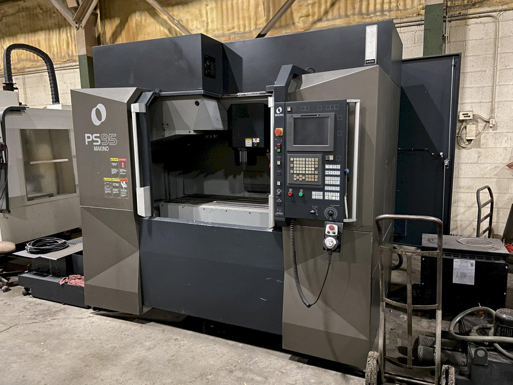 For Sale - Makino PS95 CNC Vertical Machining Center, Fanuc