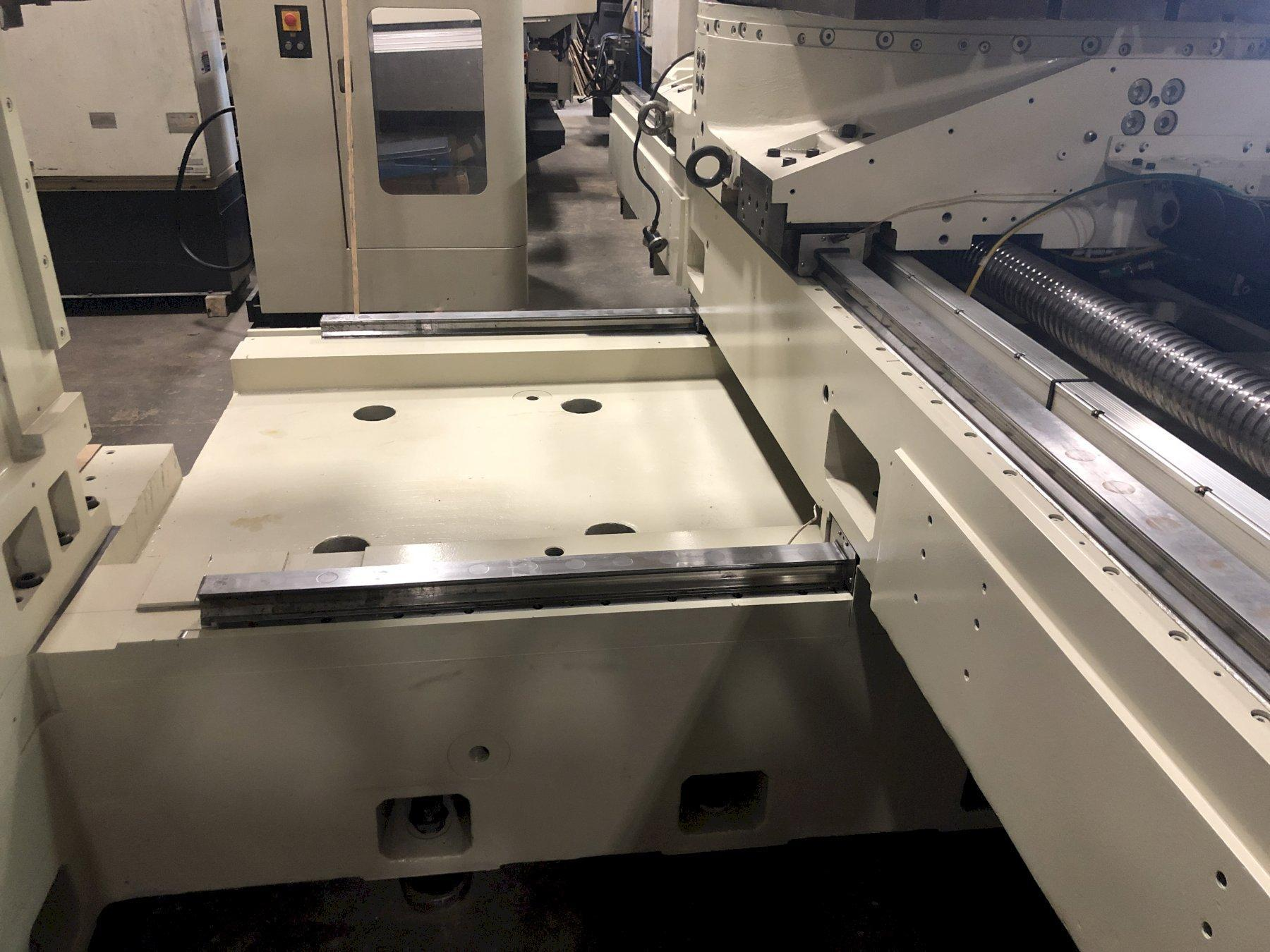 "GIDDINGS AND LEWIS RT-1250 6.1"" CNC HORIZONTAL BORING MILL w/Siemens 840D Control, Full 4th Axis"
