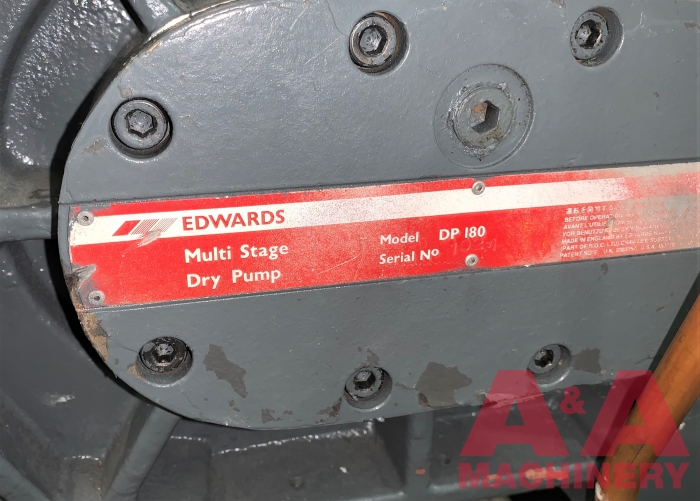 Edwards Multi Stage Industrial Dry Pump
