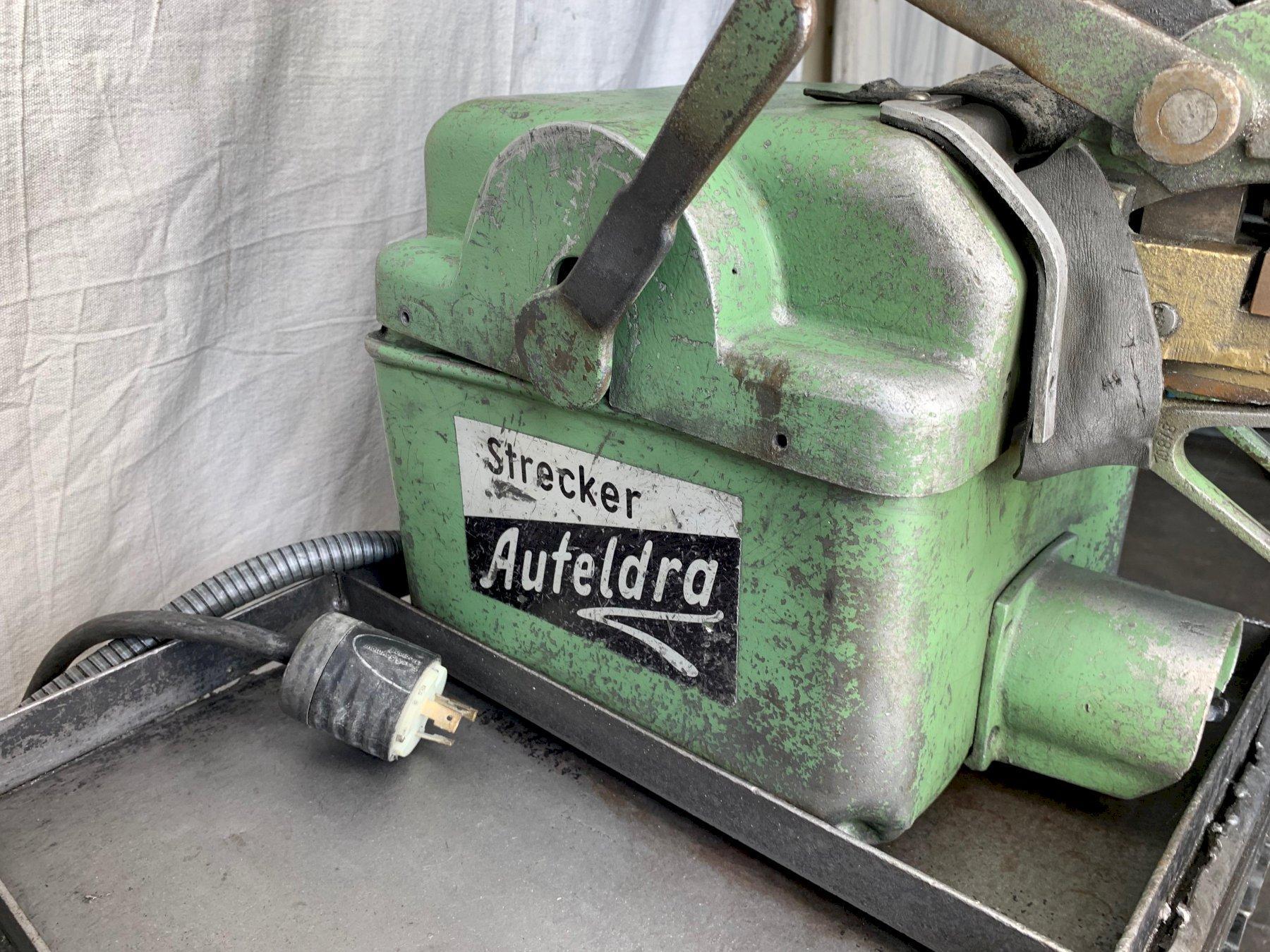 Strecker 1A Butt Welder