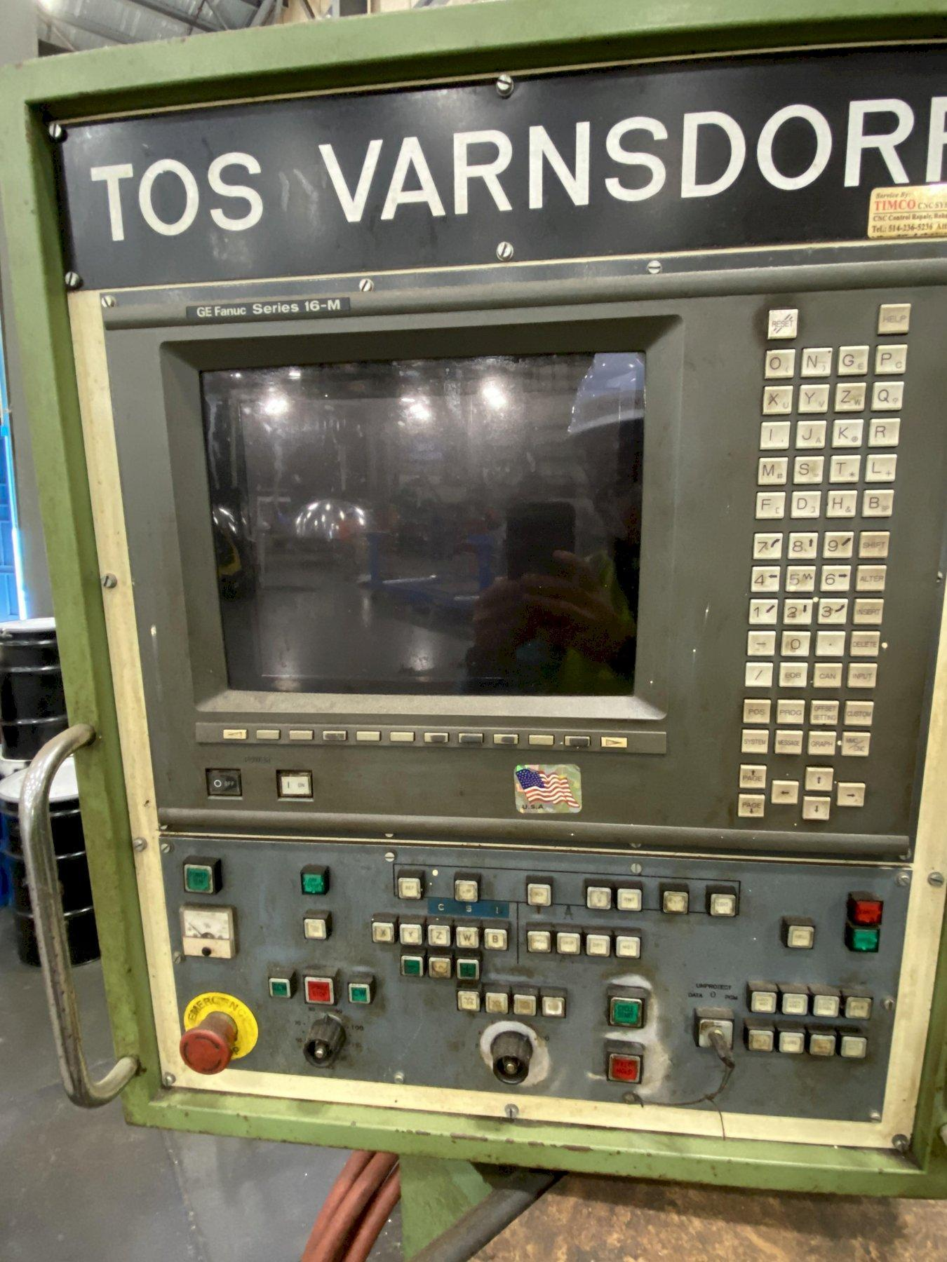 "5.1"" Tos Varnsdorf Model WHN13.8 CNC Table Type Horizontal Boring Mill"