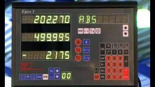 KNUTH MODEL VHF 2 UNIVERSAL MILLING MACHINE