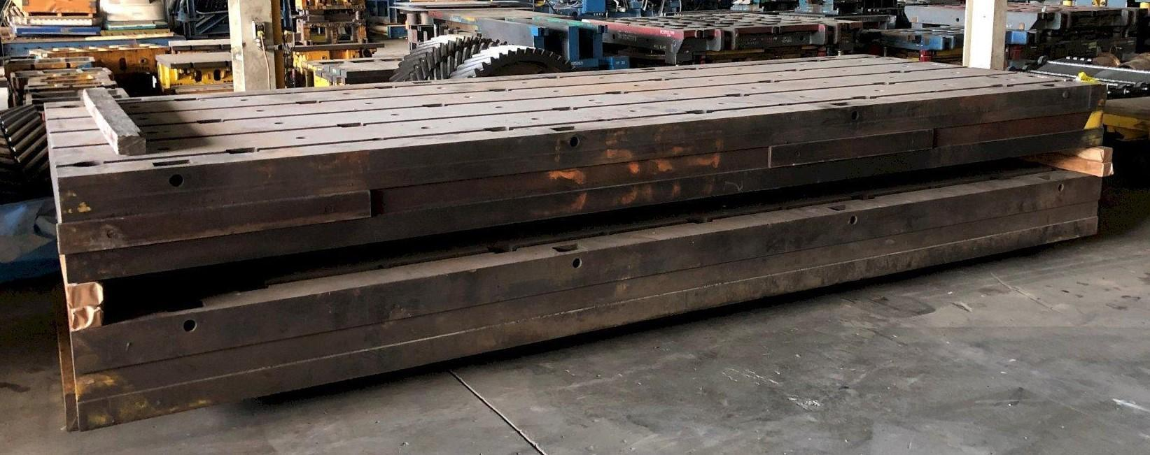 """154"""" x 203"""" x 13-3/4"""" T-SLOTTED FLOOR PLATE: STOCK #11491"""