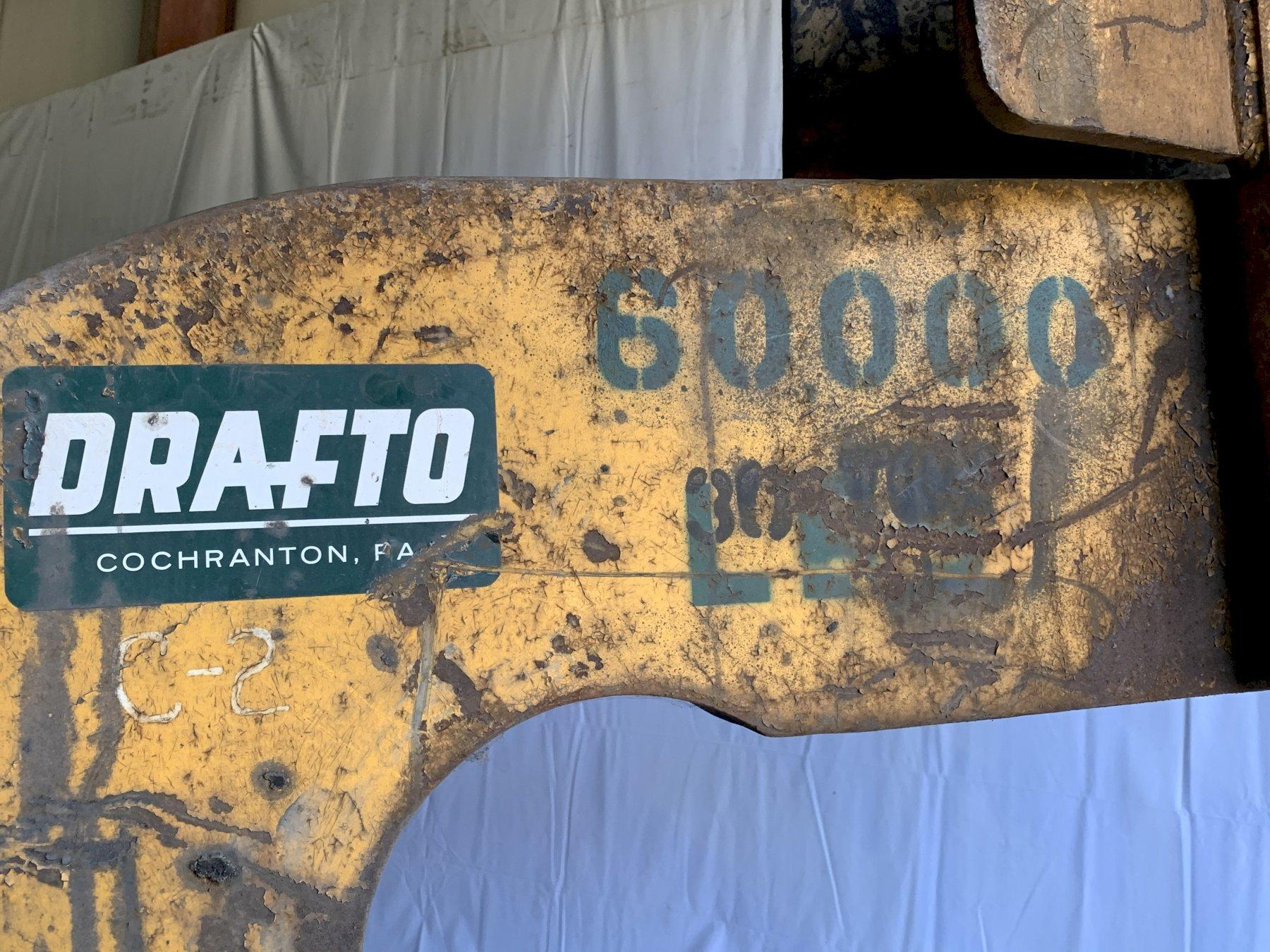 "30 TON (60,000 LB) X 60"" DRAFTO COIL LIFTING C HOOK: STOCK #11372"