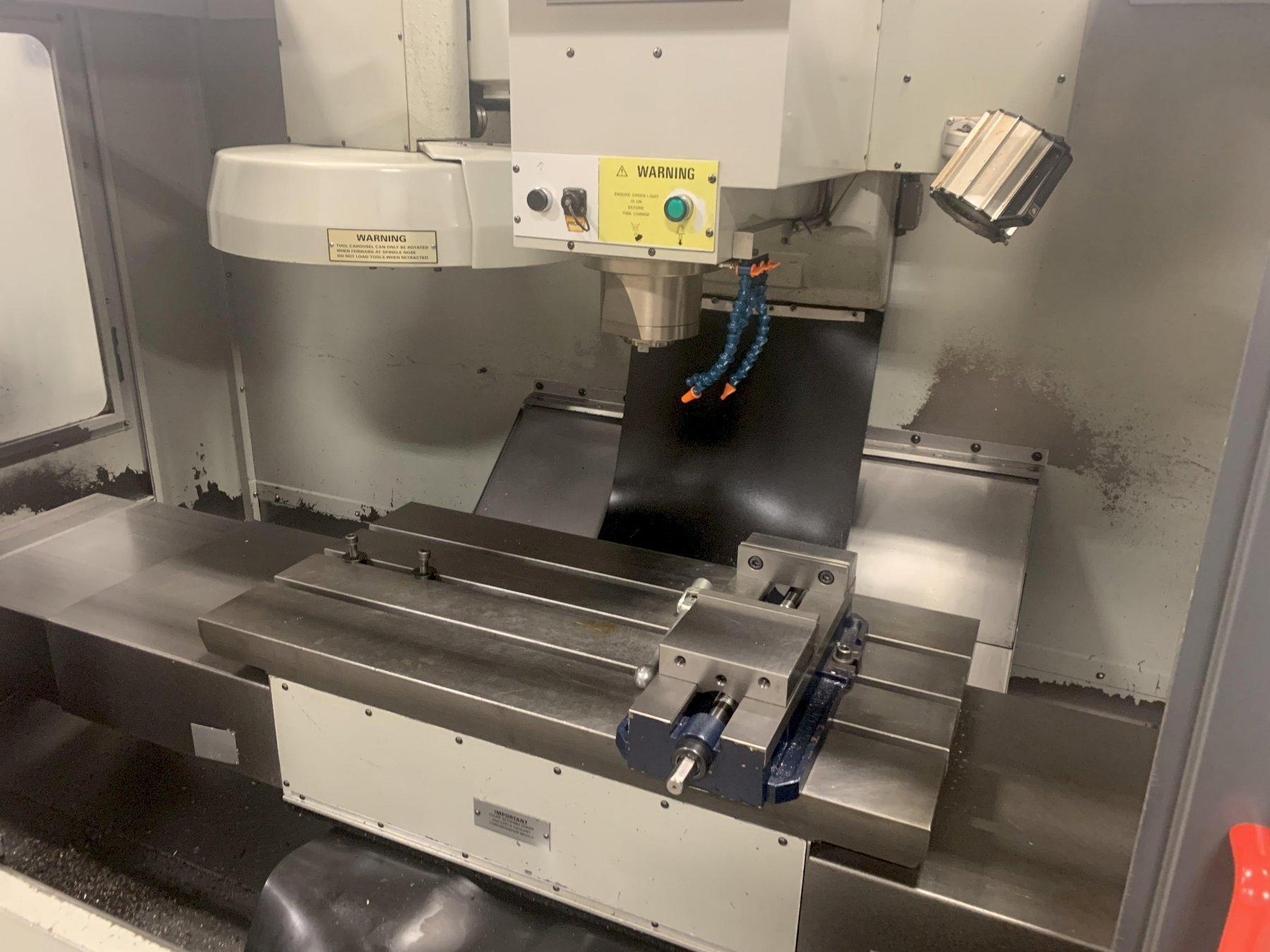 BRIDGEPORT VMC-760 VERTICAL MACHINING CENTER: STOCK #12754