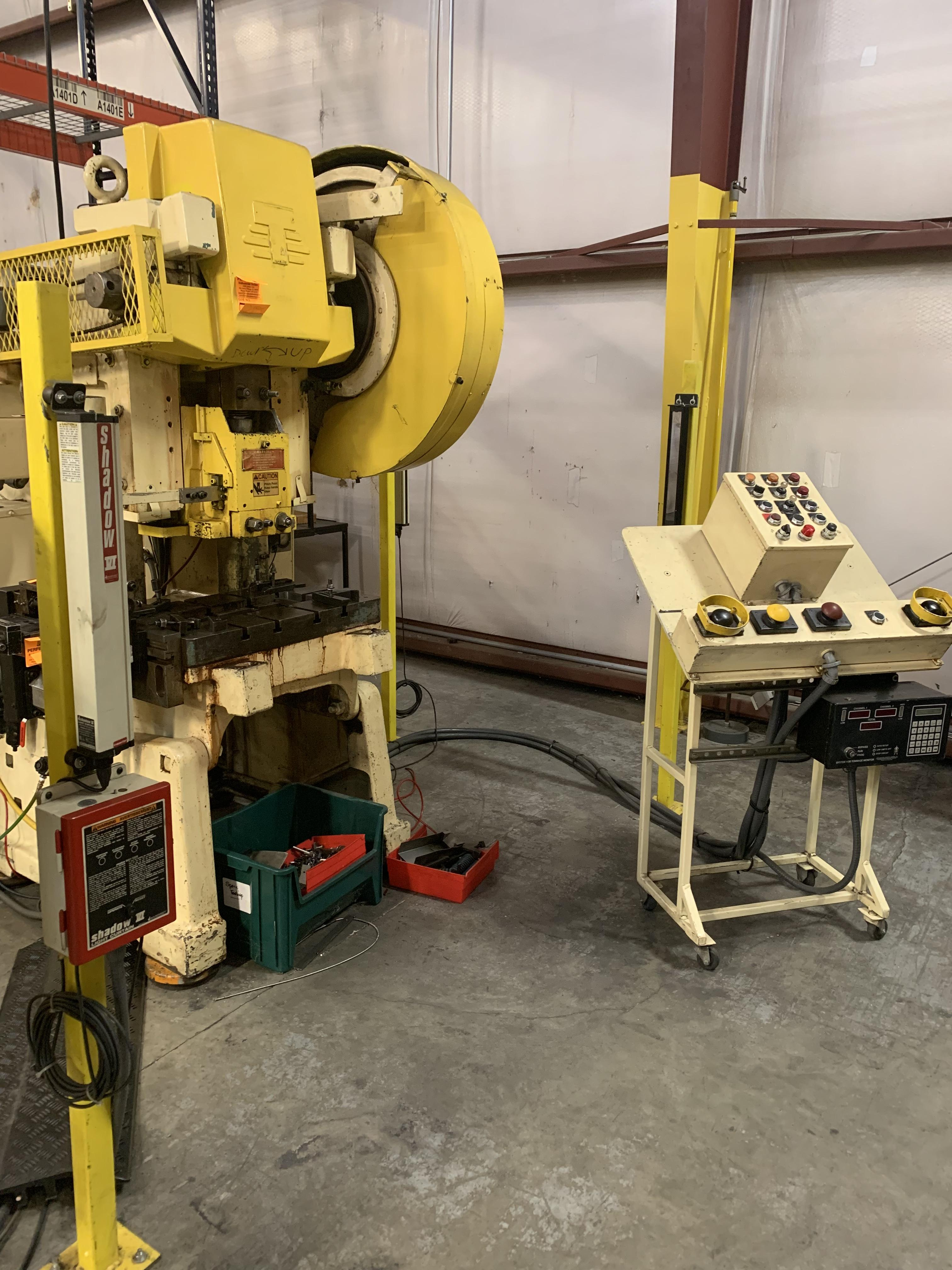 "35 TON V & O HI-SPEED OBI PRESS; 2"" STROKE X 250 SPM: STOCK #10110"