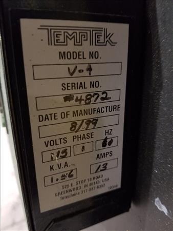 TEMPTEK VL-4 PORTABLE HOPPER DRYER