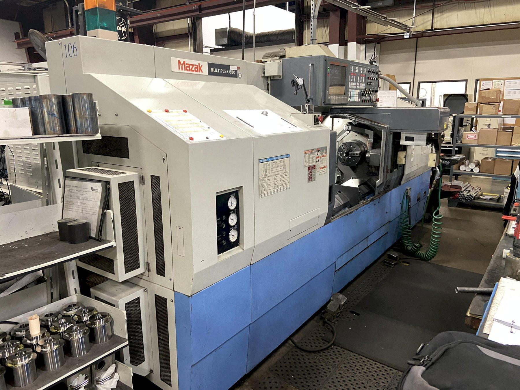 Mazak Multiplex 630 CNC Lathe
