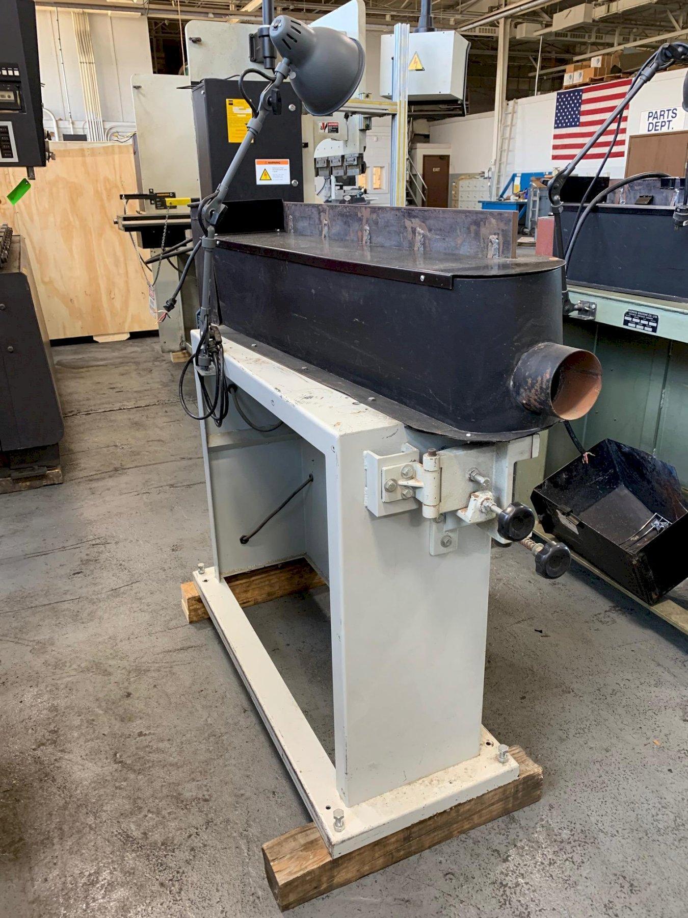 "USED CANTEK 6"" x 108"" EDGE SANDING MACHINE FOR WOOD, Stock # 10753"