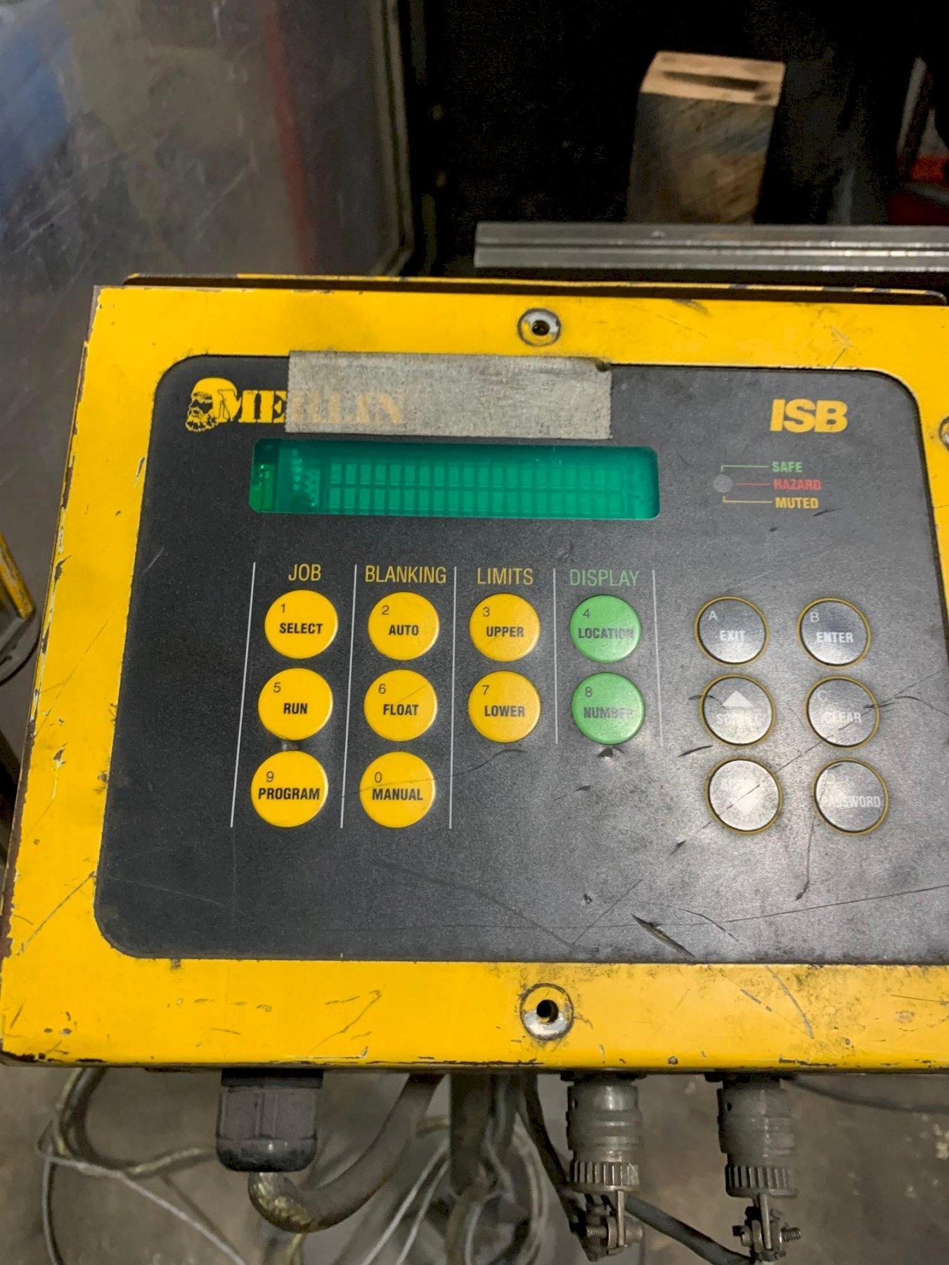 USED AMADA 143 TON X 10' MODEL HFE 1303 6-AXIS HYDRAULIC DOWNACTING CNC PRESS BRAKE, Stock# 1073