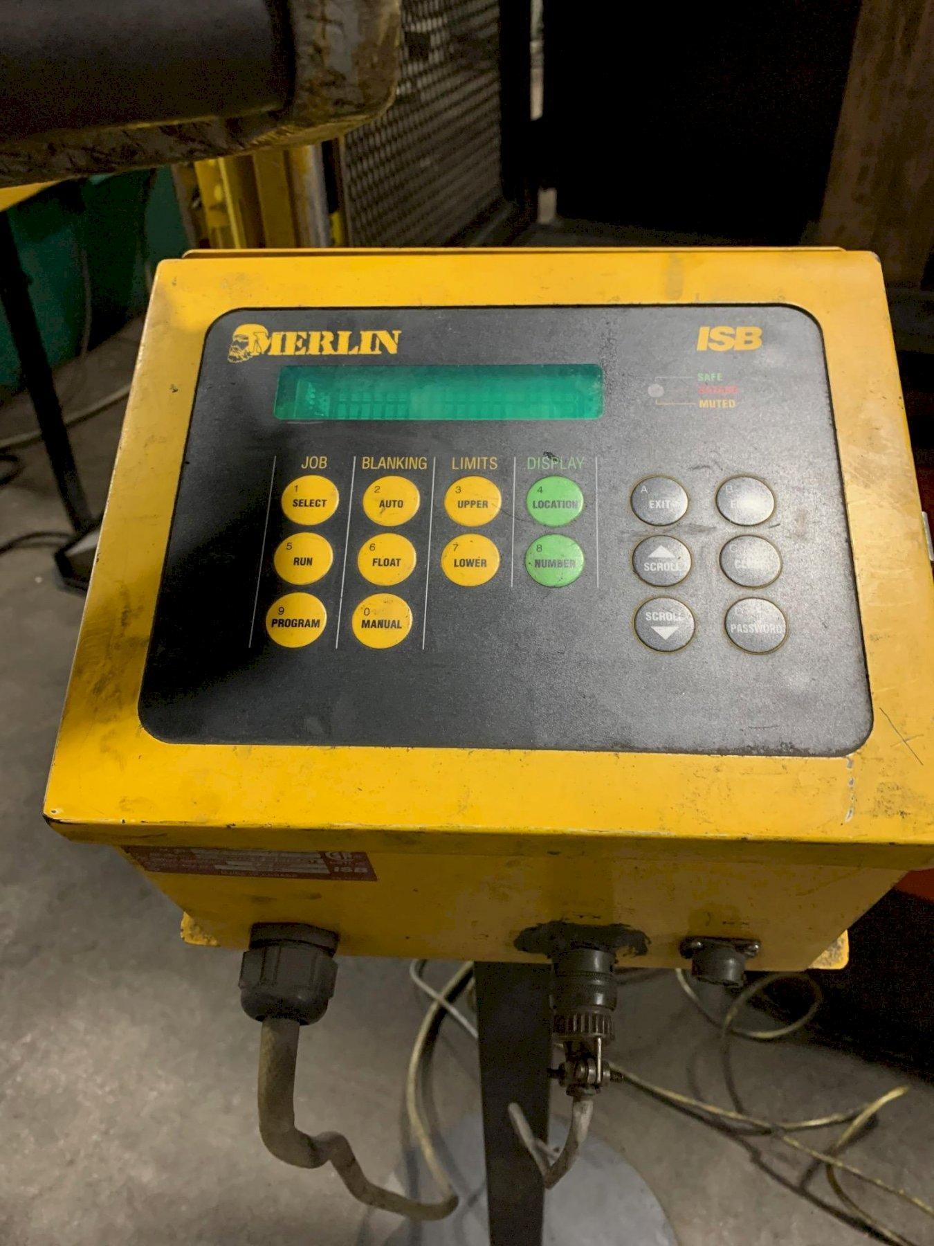 USED AMADA 187 TON X 10' MODEL HFE 1703S 6-AXIS HYDRAULIC DOWNACTING CNC PRESS BRAKE, Stock# 107