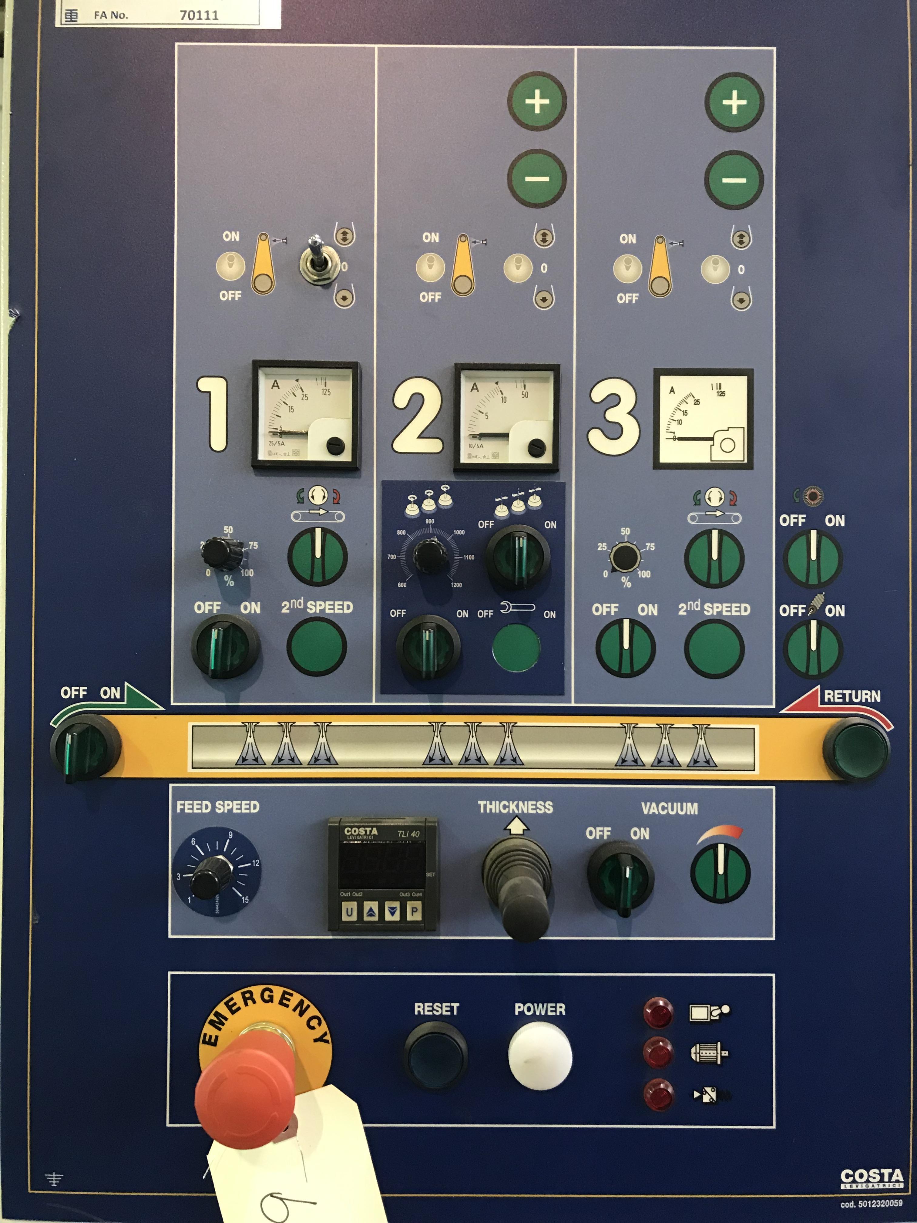 2014 COSTA MD5 CV 1350 Finishing Machine (#3403)