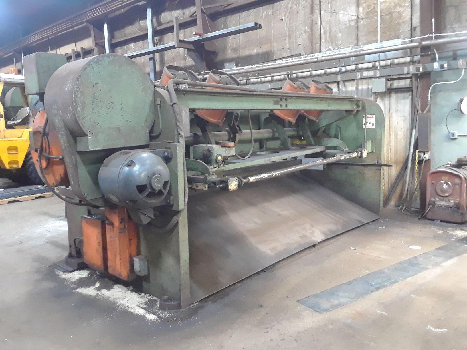 Cincinnati 4312 Power Squaring Shear (#3625)