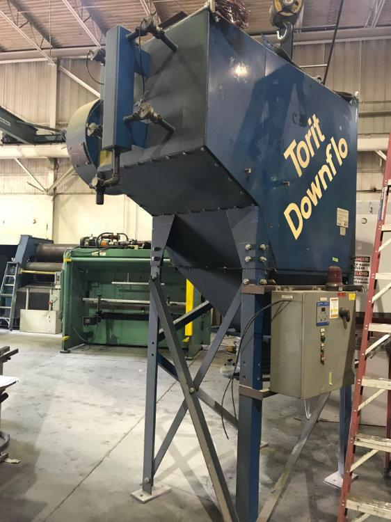 """USED DONALDSON TORIT """"DOWNFLO EVOLUTION"""" DUST COLLECTOR, Model DFT2-8, 7.5 H.P., Stock No. 10484"""