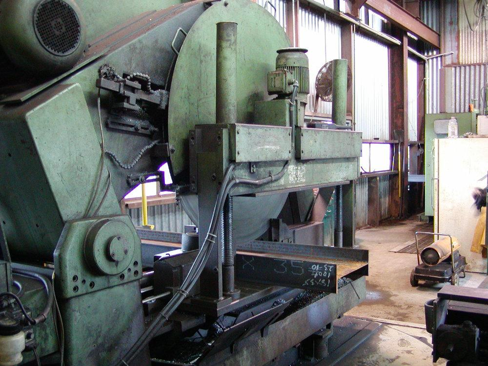 "USED KALTENBACH HEAVY DUTY COLD SAW, Model HDM 1300, 19"", Stock No. 9655, Year 1983"