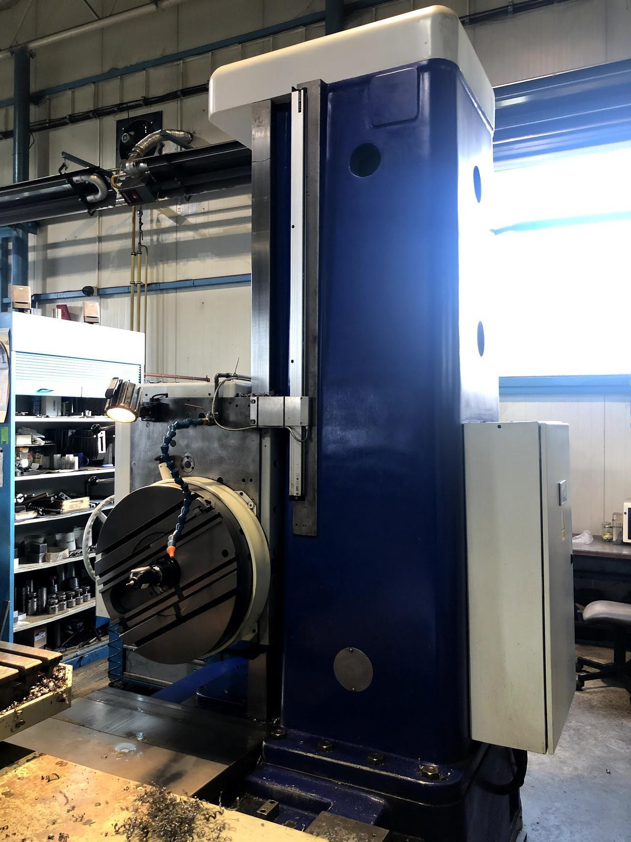 "4"" TOS Model W100A Manual Table Type Horizontal Boring Mill, Factory Rebuilt 2018"