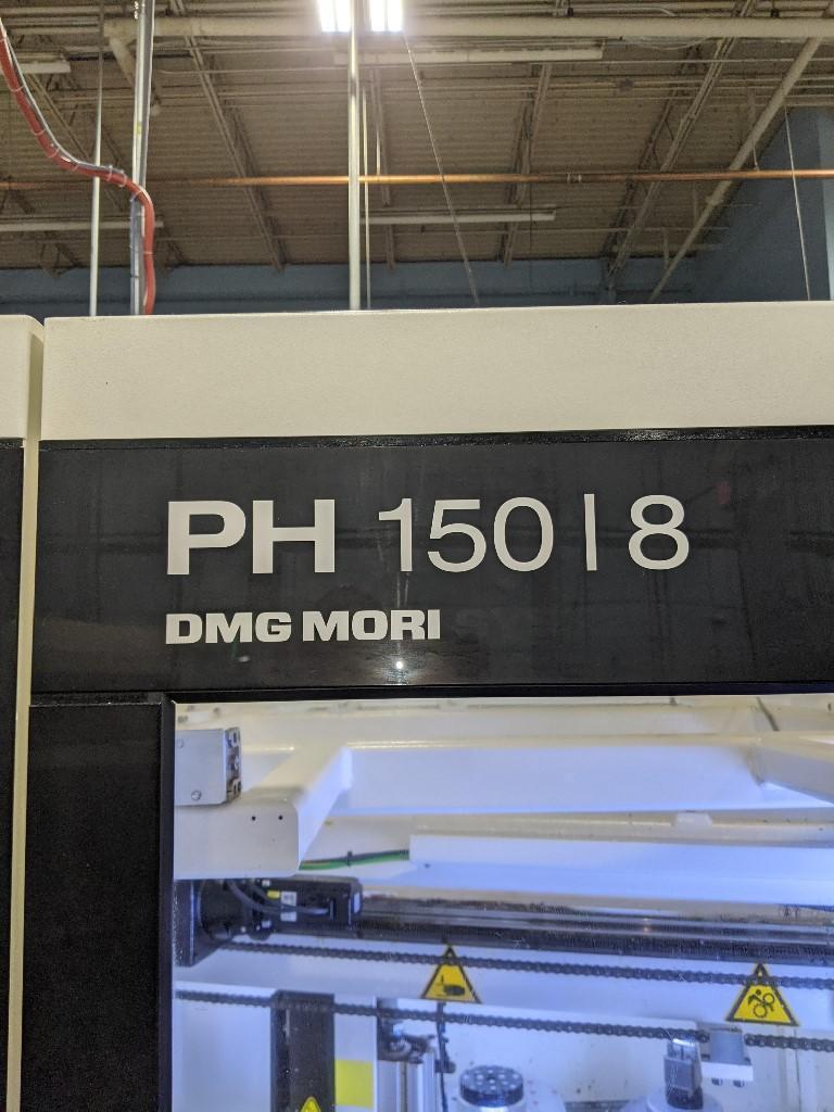 2014 DMG Mori DMU 40 eVo Linear 5-Axis Machining Center w/ 10 Pallets