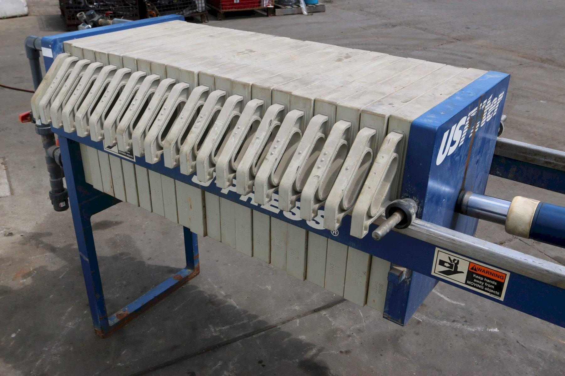 SIEMENS DEWATERING SYSTEMS FILTER PRESS: STOCK #70476