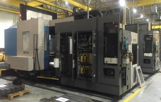 TOYODA MODEL #FA800 CNC HORIZONTAL MACHINING CENTER: STOCK #70715