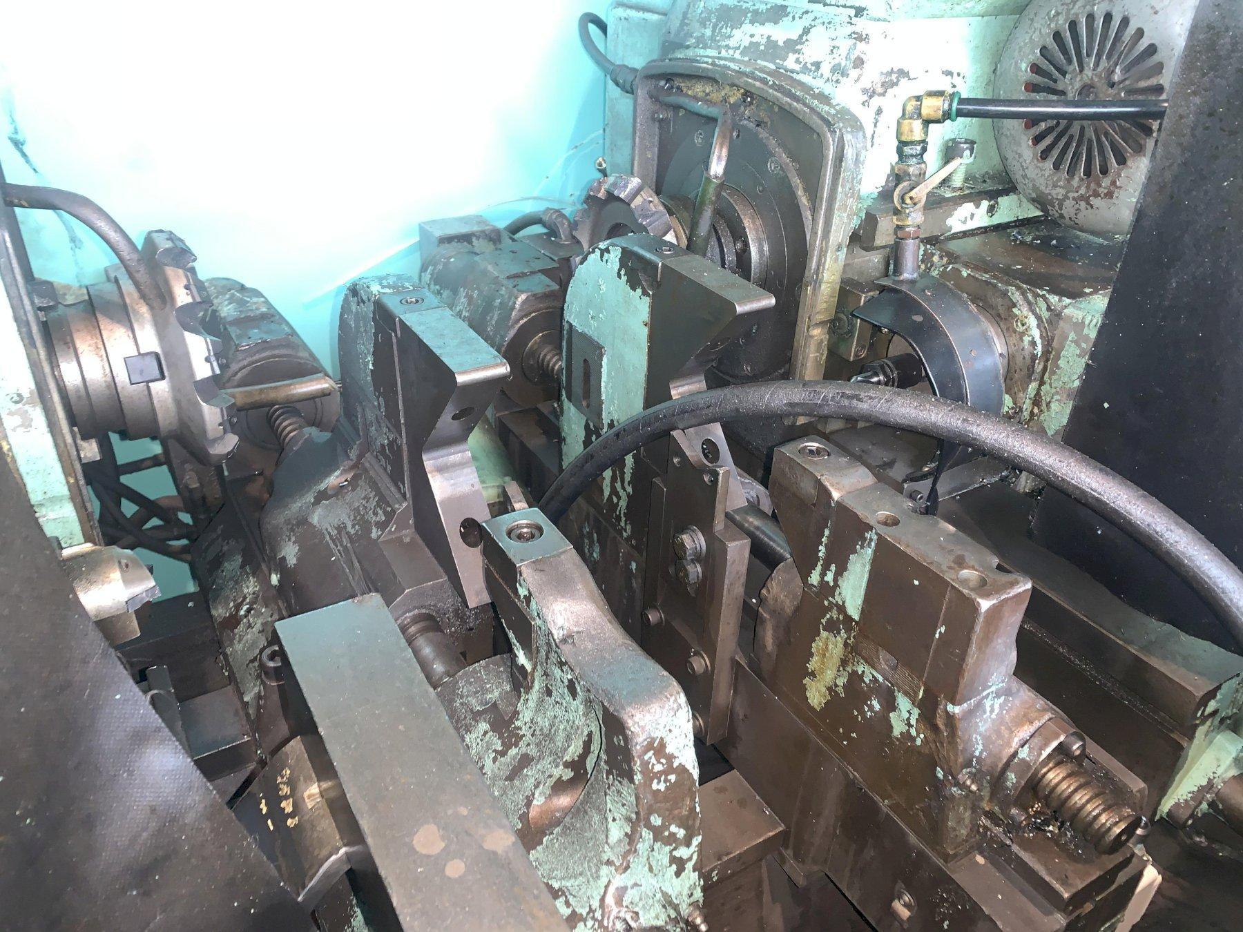 "24"" TO 66"" x 15 HP GIDDINGS & LEWIS SELF CENTERING & FACING MACHINE: STOCK #12230"