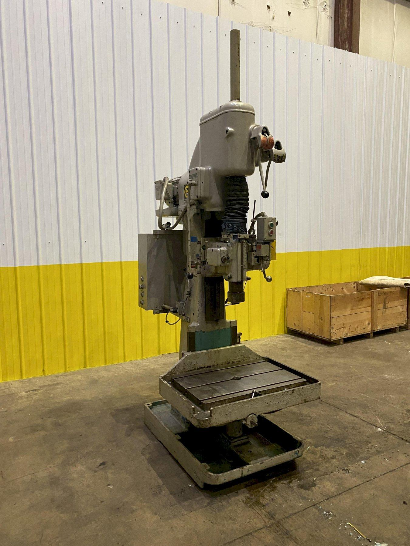 """24"""" GIDDINGS & LEWIS BICKFORD MODEL 25A-64346 SINGLE SPINDLE VERTICAL DRILL: STOCK #11435"""