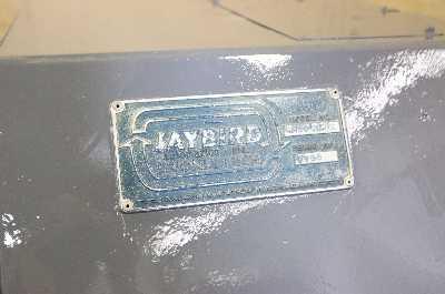 "6000 LBS X 24"" JAYBIRD MODEL #R602472 NON MOTORIZED UNCOILER COIL REEL: STOCK #10162"
