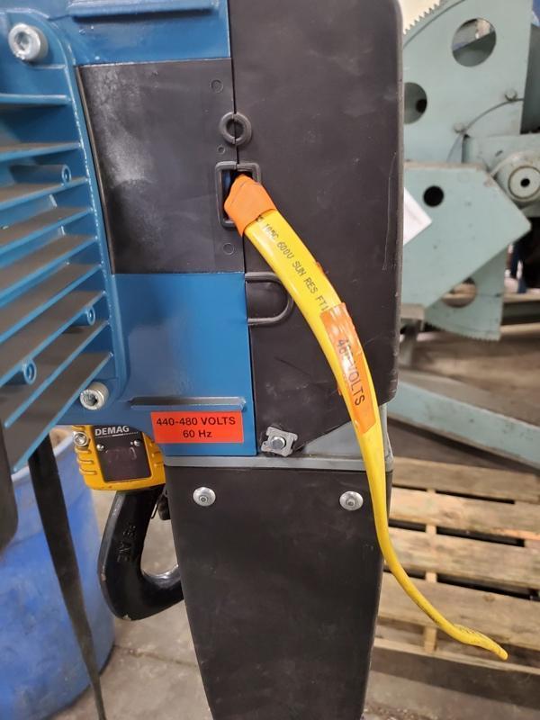DEMAG ELECTRIC CHAIN HOIST