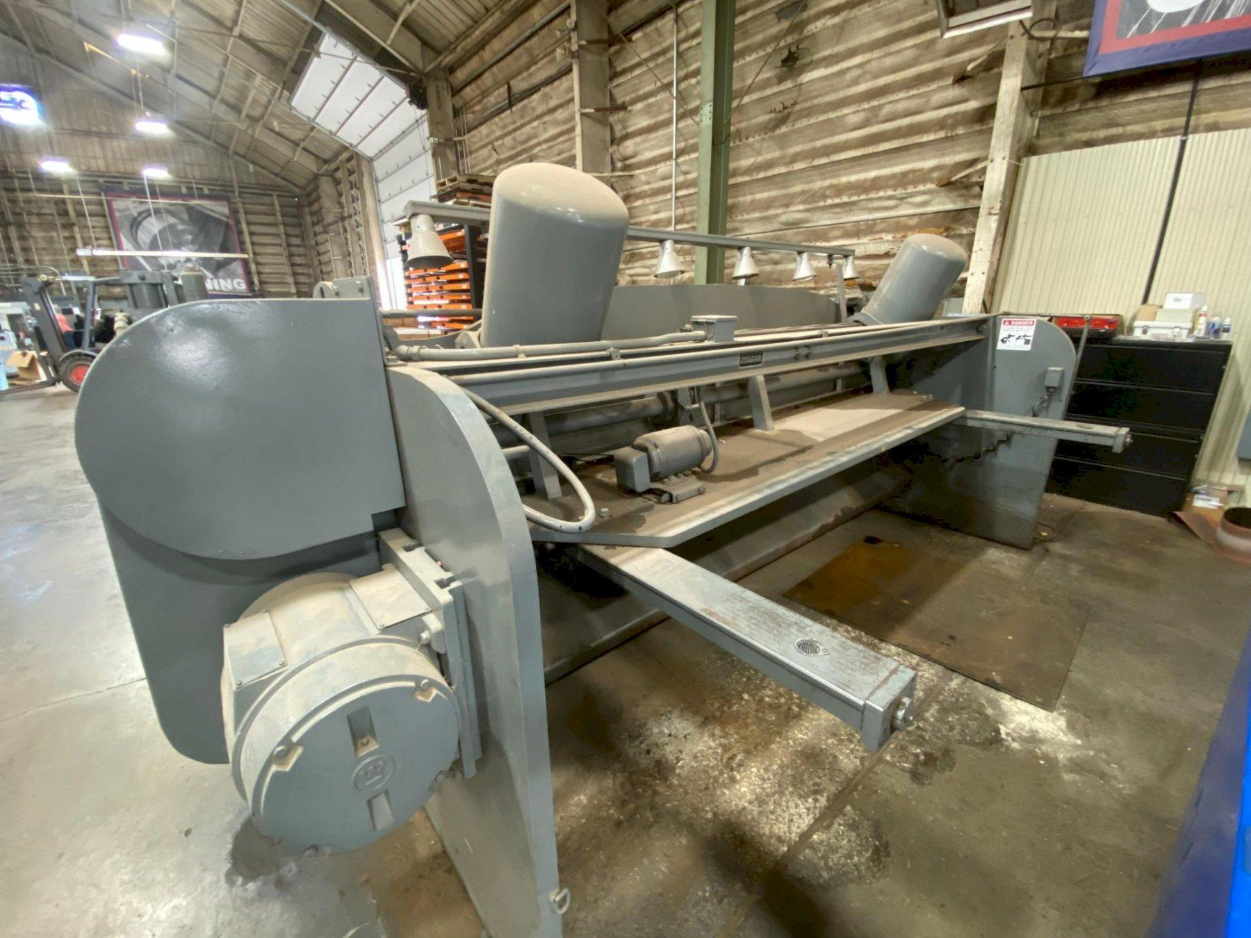 "12' x 1/4"" Cincinnati Auto-Shear 1812 Mechanical Shear"
