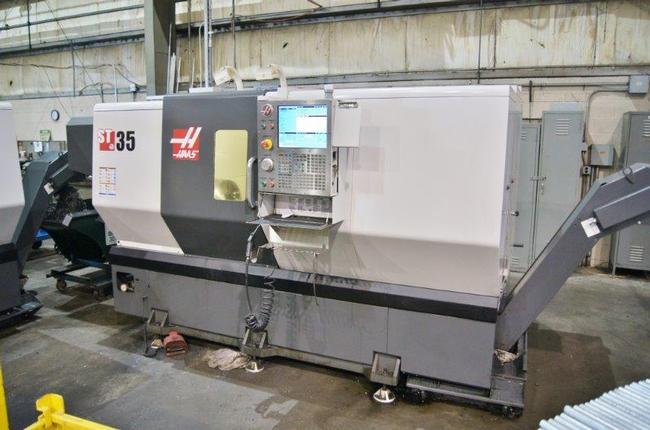 "Haas ST-35, 15"" Chk, 2014, Conveyor, Gearbox, Internal Transformer"