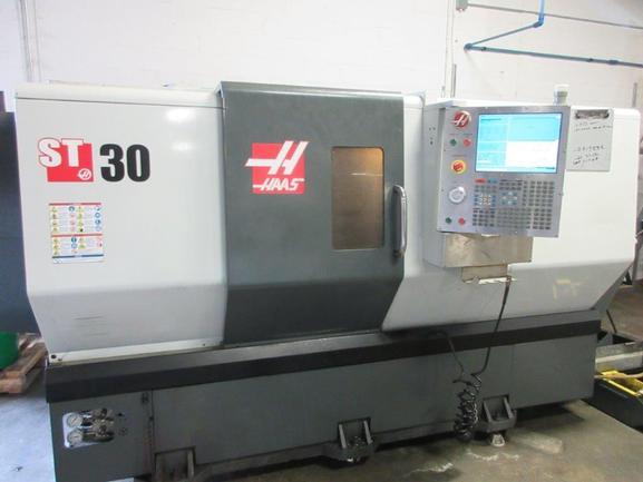 "Haas ST-30T Big Bore, 2012, 4"" Bar Capacity, 12"" Chuck, TS, 2-Speed, 1900 Hours"