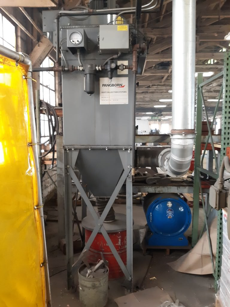 Pangborn Rotoblast, 6GN-6M, 6.5 Cu. Ft, Manganese Steel Belt, Dust Collector, Low Hours,'12 #30519