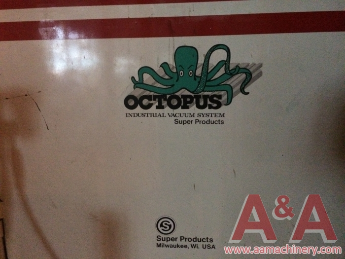 Octopus Industrial Vacuum System by Super Products