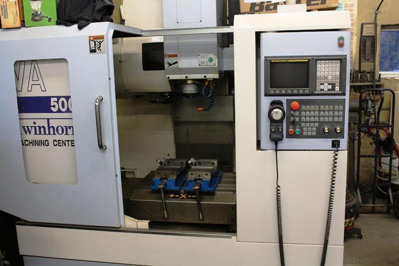 TWIN HORN MODEL VA500 3-AXIS CNC VERTICAL MACHINING CENTER