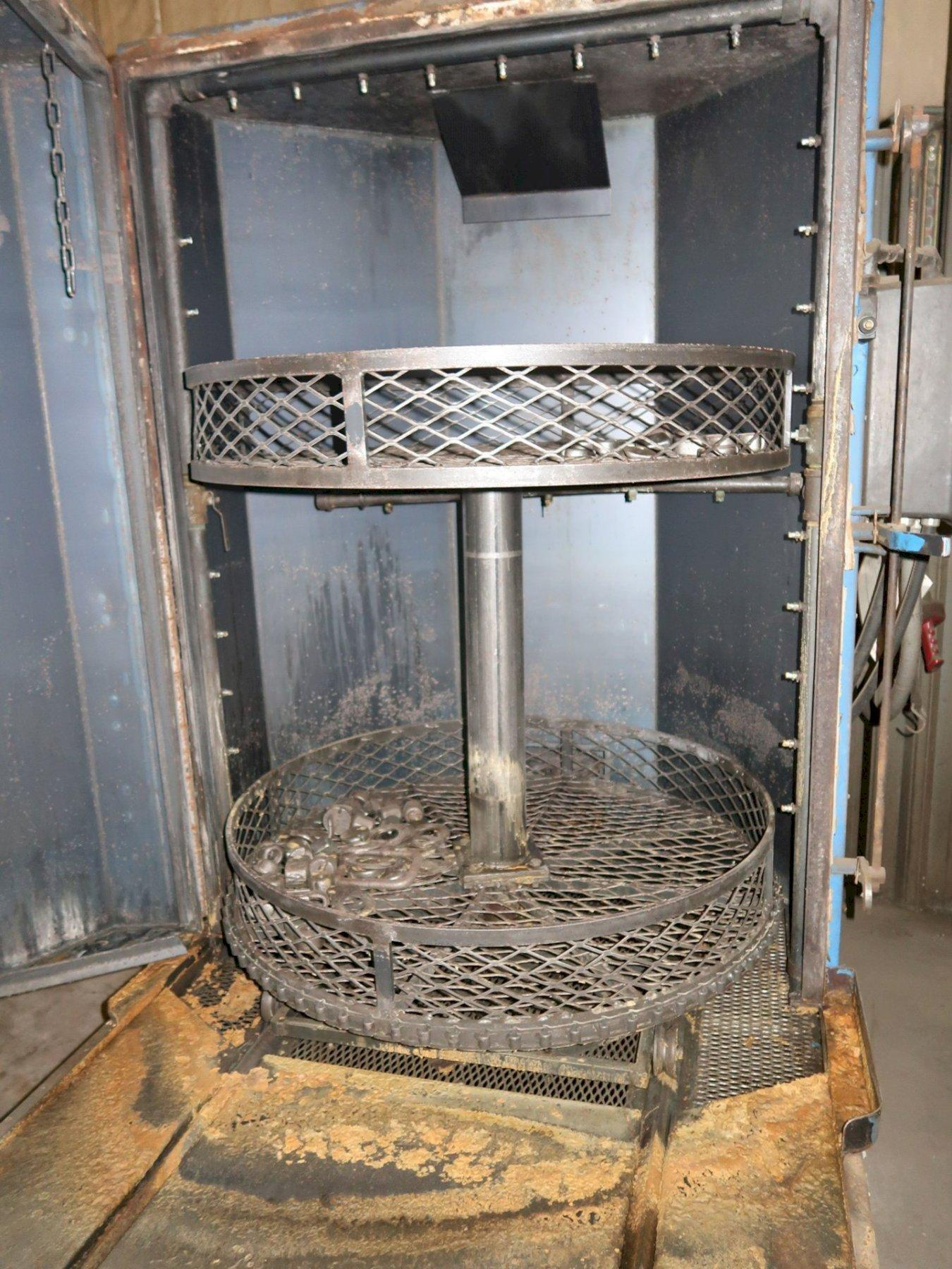 """42"""" X 60"""" INTERCONT PRODUCTS MODEL #SJW-4 ROLL OUT ROTARY BASKET PARTS WASHER: STOCK 11409"""
