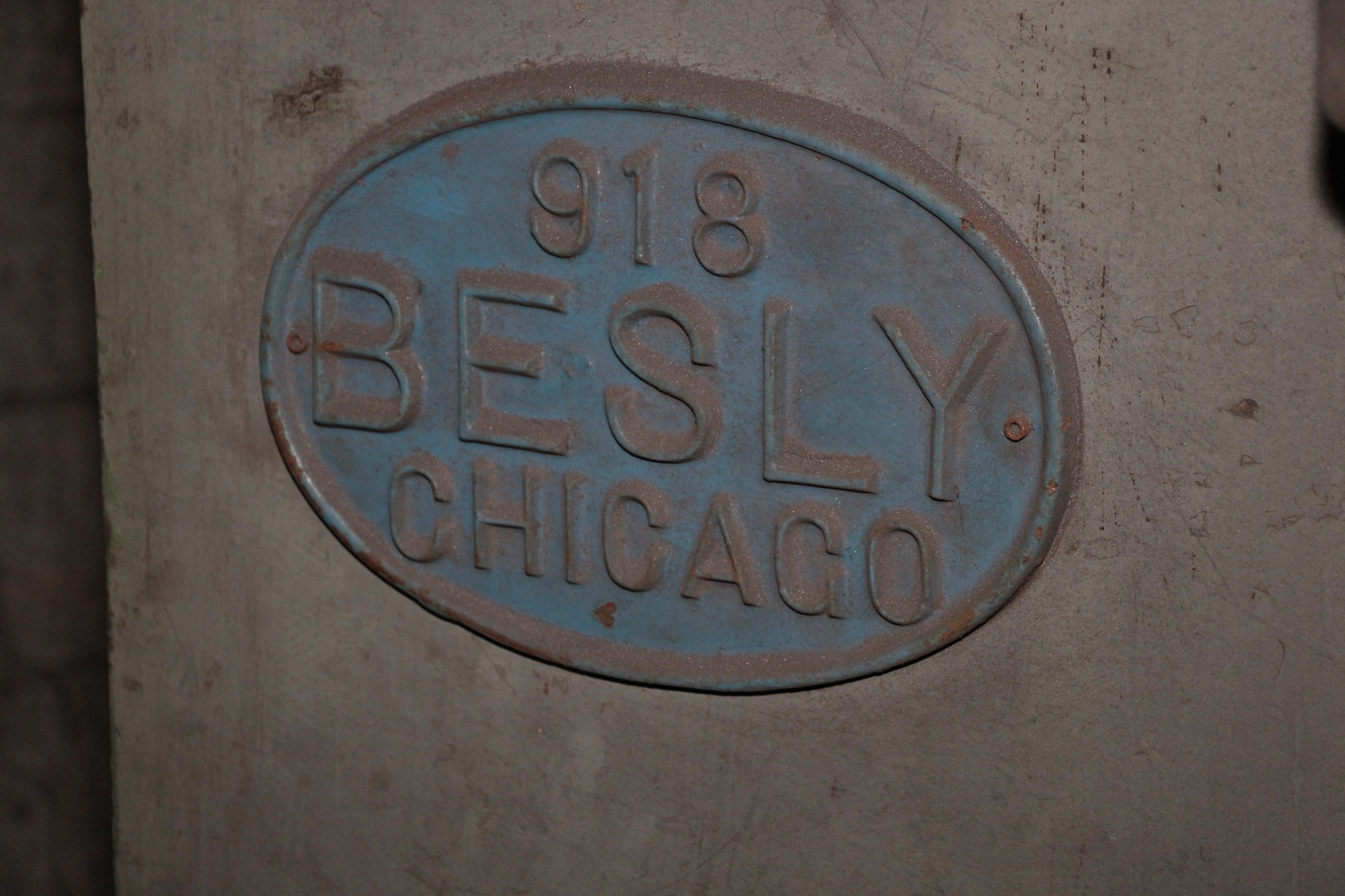 """30"""" BESLY MODEL #918 VERTICAL SPRING GRINDER: STOCK #10757"""