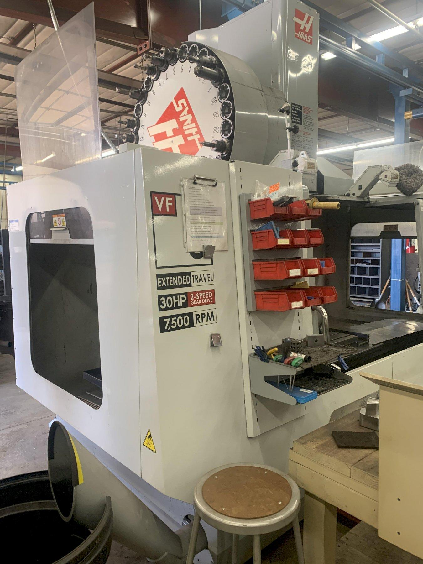HAAS VF5/50 XT VERTICAL MACHINING CENTER, NEW 2007: STOCK #12962